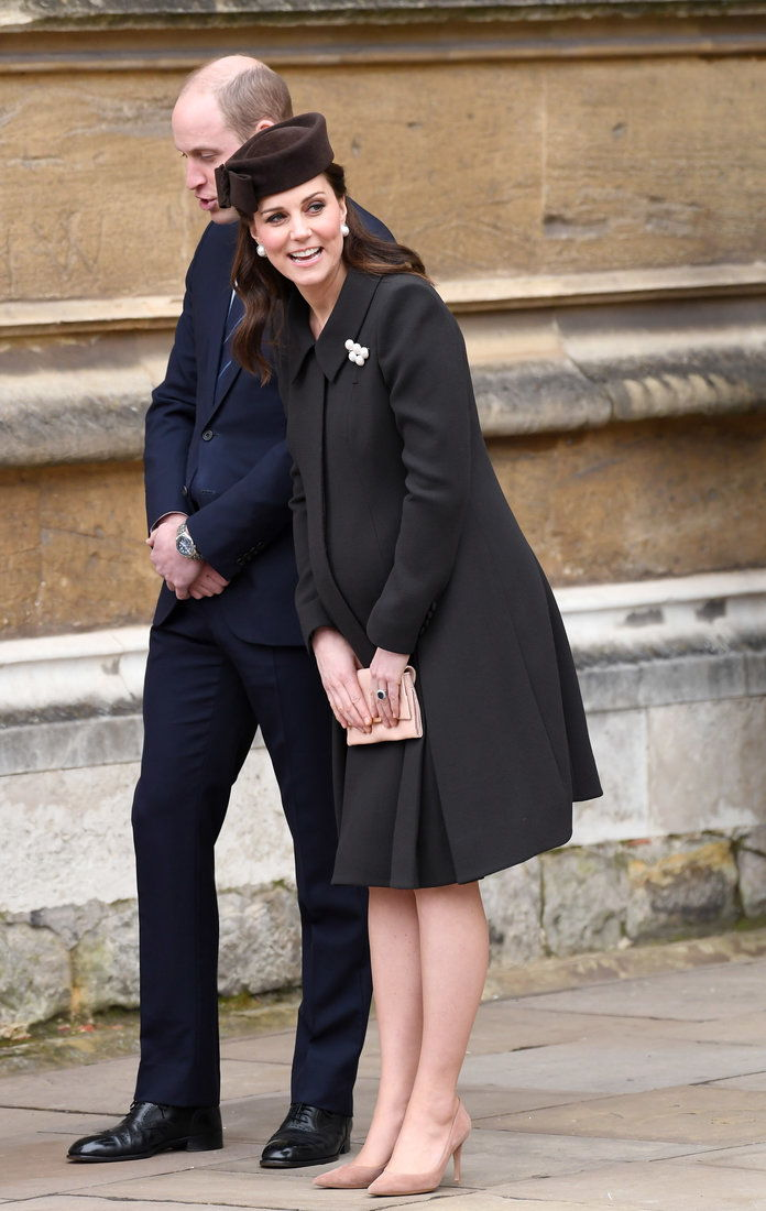 Royal Family Attend Easter Service At St George's Chapel, Windsor