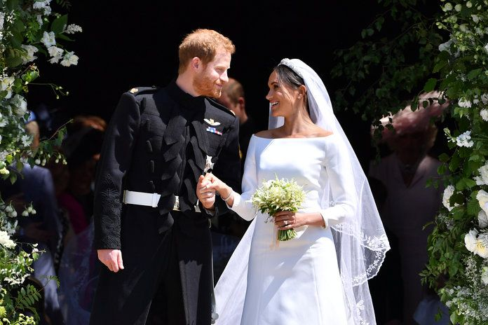 राजकुमार Harry Marries Ms. Meghan Markle - Windsor Castle