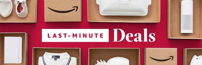 อเมซอน Last-Minute Deals- Lead
