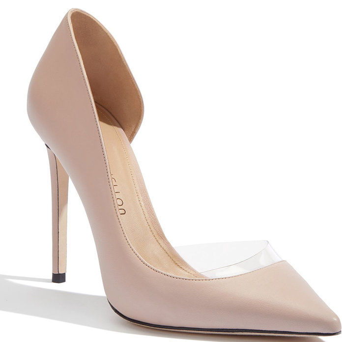 भोंपू Nappa Leather Heeled Pump